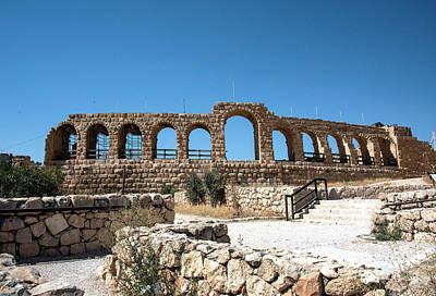 Photograph - Roman Ruins by Mae Wertz