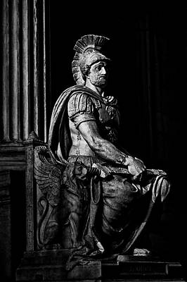 Photograph - Roman Soldier In Nyc. No8 by Val Black Russian Tourchin