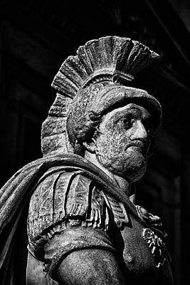 Photograph - Roman Soldier In Nyc. No9 by Val Black Russian Tourchin