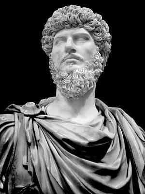 Photograph - Roman Statue Series 0082y1 by Carlos Diaz