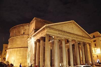 Photograph - Roman Temple by JAMART Photography