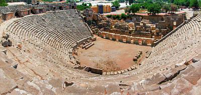 Photograph - Roman Theatre In Myra by Sun Travels