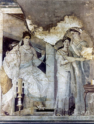 Photograph - Roman Toilette Scene by Granger