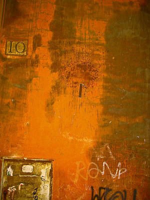 Roman Wall 10 Original by Jon Cretarolo