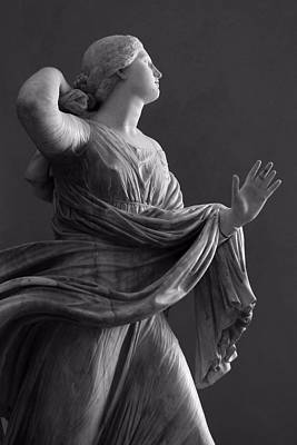 Photograph - Roman Woman Statue by Patricia Strand