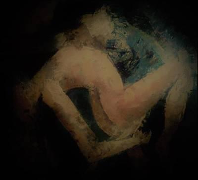 Annette Kinship Wall Art - Painting - Romance Deepened by Annette Kinship
