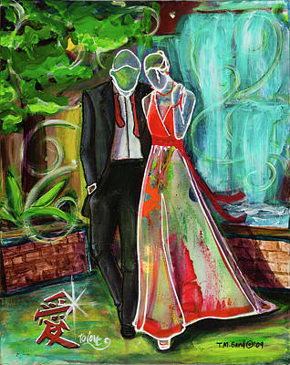 Painting - Romance Each Other by TM Gand