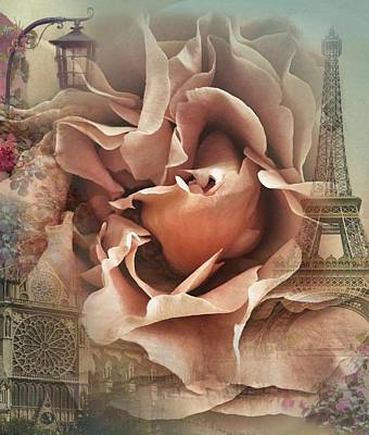 Photograph - Romance In Paris by Marianna Mills