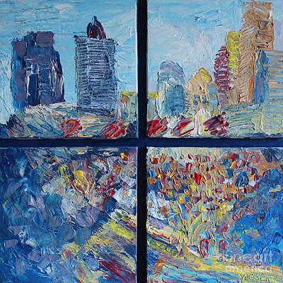 Romance In The City Original by Robert Yaeger