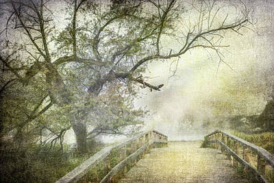 Photograph - Romance In The Mist Antique by Debra and Dave Vanderlaan