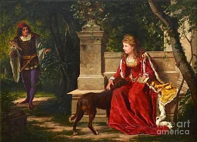 Painting - Romance In The Park by Celestial Images