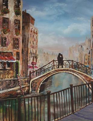 Painting - Romance In Venice by Jean Walker