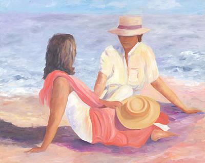 Painting - Romance by Joy Fahey