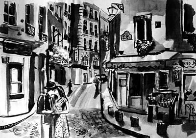 Painting - Romance by Laura Rispoli