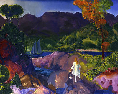 Painting - Romance Of Autumn by George Bellows