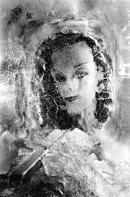 Photograph - Romancing The Ice Princess by Michael Howard