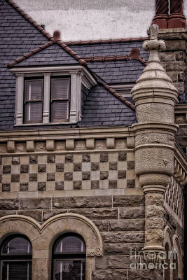 Photograph - Romanesque Architectural Cornerstone by Ella Kaye Dickey