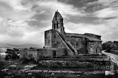 Photograph - Romanesque Church Of Santa Maria De Retortillo Bw by RicardMN Photography