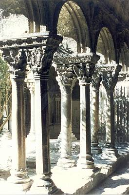 Photograph - Romanesque Columns Of St. Trophime by Christopher Kirby