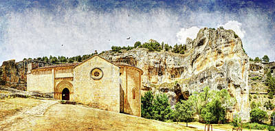 Photograph - Romanesque Mountain Church - Short Vintage Version by Weston Westmoreland
