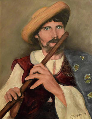Painting - Romanian Piper by Sandra Nardone