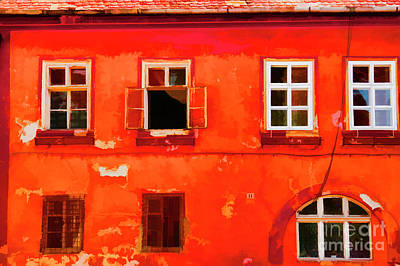 Photograph - Romanian Red by Rick Bragan