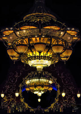 Photograph - Romanov's Chandelier by Endre Balogh