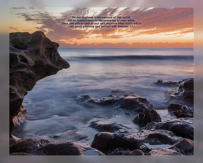Photograph - Romans 12 2 by Dawn Currie