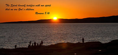 Photograph - Romans 8-16 by Paul Mangold