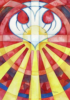 Romans Twelve Spiritual Gifts Original by Mark Jennings