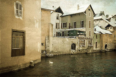 Photograph - Romantic Annecy 1 by Jenny Rainbow