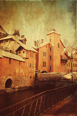 Photograph - Romantic Annecy 2 by Jenny Rainbow