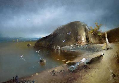 Painting - Romantic Coast by Igor Medvedev