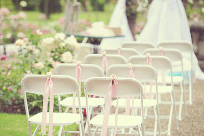 Photograph - Romantic Details Of Wedding Setting. De Haar Castle by Jenny Rainbow