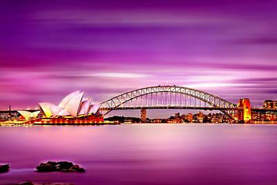 Long Exposure Photograph - Romantic Harbour  by Az Jackson
