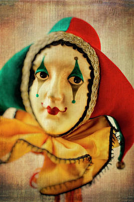 Jester Photograph - Romantic Jester by Garry Gay