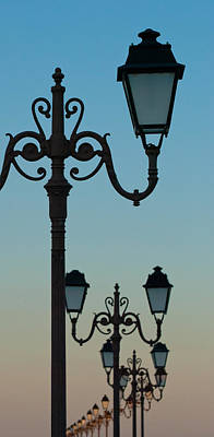 Photograph - Romantic Lamps By The Mediterranean Sea by Jani Freimann