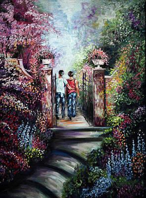 Painting - Romantic Landscape by Harsh Malik