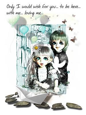 Digital Art - Romantic Love by Larisa Isaeva