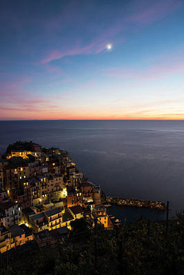 Photograph - Romantic Manarola by Yuri Santin