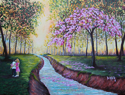 Painting - Romantic Moment by Gloria E Barreto-Rodriguez
