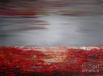 Painting - Romantic Sea by Preethi Mathialagan
