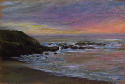 Pastel - Romantic Shore by Susan Jenkins