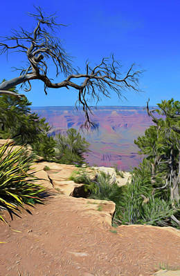 Photograph - Romantic Skies Grand Canyon 2 by Aimee L Maher Photography and Art Visit ALMGallerydotcom