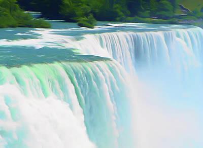 Photograph - Romantic Skies Niagara Falls 2  by Aimee L Maher Photography and Art Visit ALMGallerydotcom