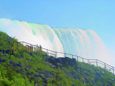 Photograph - Romantic Skies Niagara Falls 9 by Aimee L Maher Photography and Art Visit ALMGallerydotcom