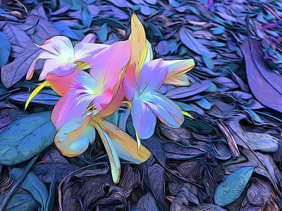 Photograph - Romantic Skies Pastel Petals by Aimee L Maher Photography and Art Visit ALMGallerydotcom