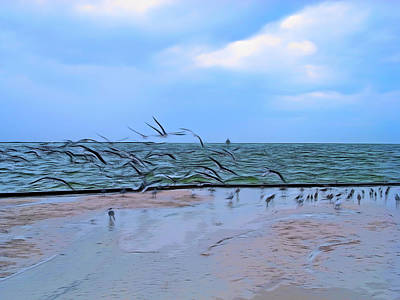 Photograph - Romantic Skies Sands Of Time by Aimee L Maher Photography and Art Visit ALMGallerydotcom