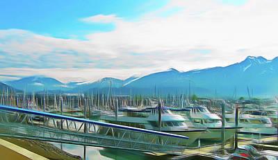 Photograph - Romantic Skies Seward Alaska by Aimee L Maher Photography and Art Visit ALMGallerydotcom