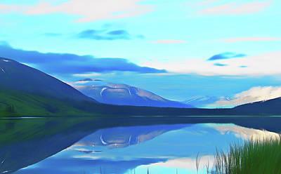 Photograph - Romantic Skies Summit Lake Alaska by Aimee L Maher Photography and Art Visit ALMGallerydotcom